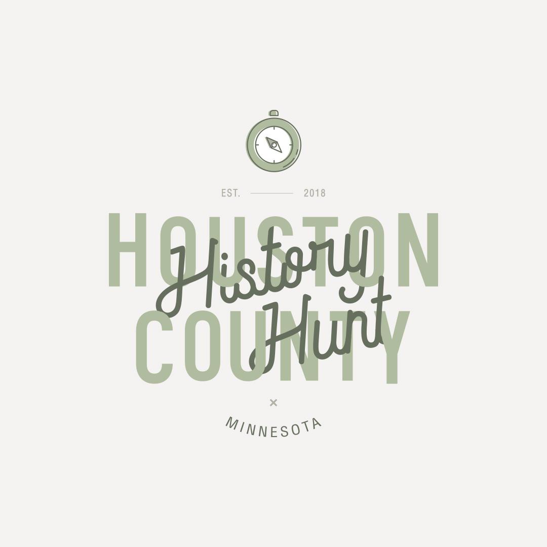 Houston History Minnesota branding design