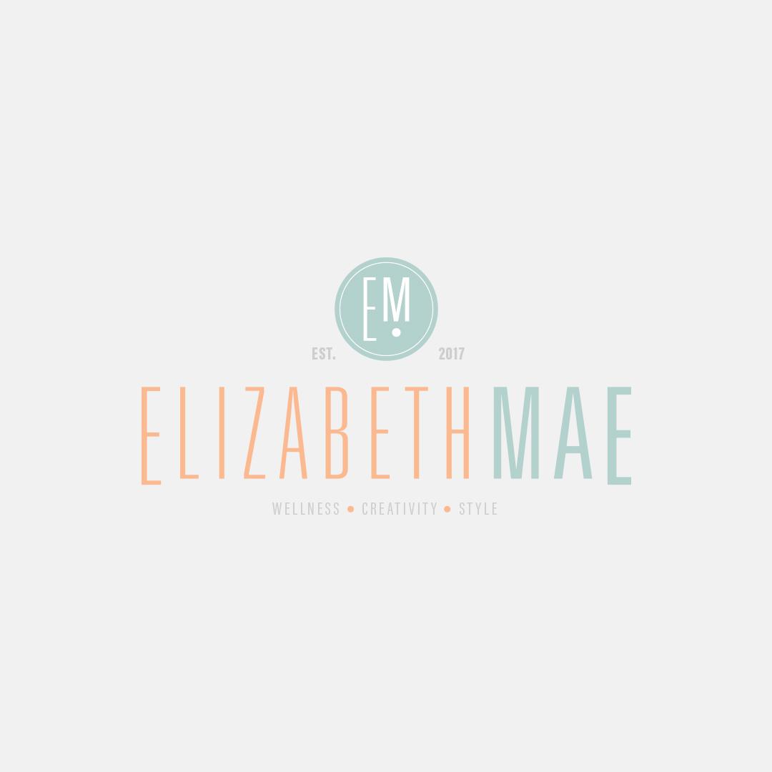 Branding design for Elizabeth Mae