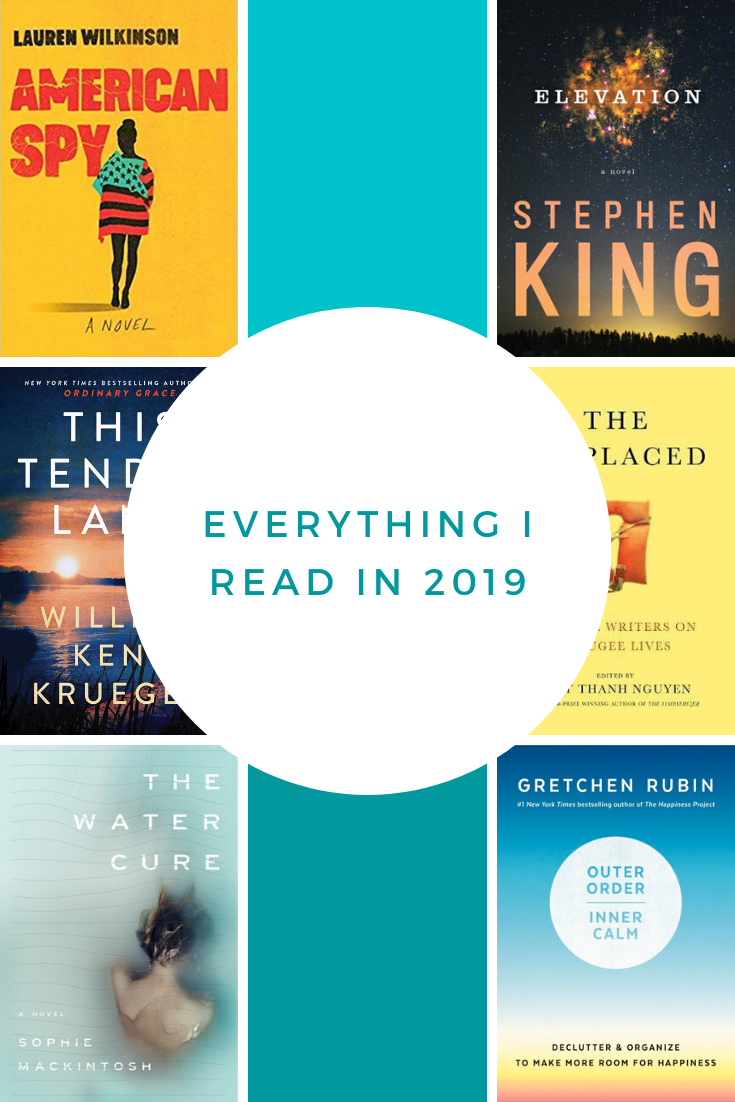 Everything I read in 2019, ranked.